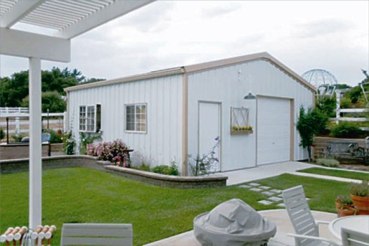 Sovereign Series VALUE LINE All-Steel Buildings - sizes from 24' - 50' wide